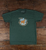 Good & Well Supply Co. - Protect National Parks T-Shirt - Forest Heather - Cabin Fever Outfitters