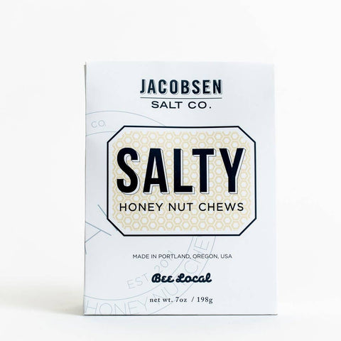 Jacobsen Salt Co - Salty Honey Nut Chews - Cabin Fever Outfitters