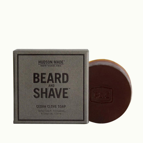 Hudson Made - Cedar Clove Beard & Shave Soap - Cabin Fever Outfitters