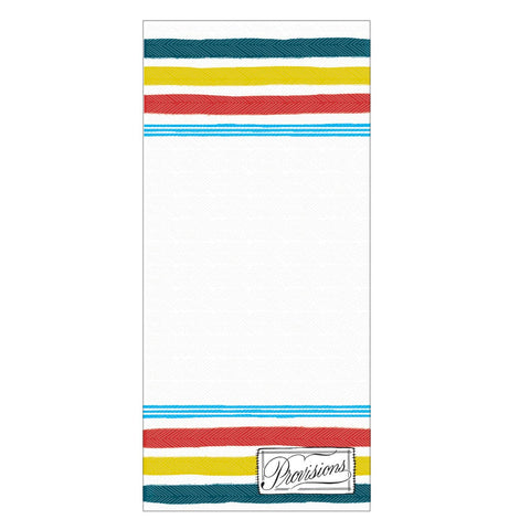 Antiquaria - Provisions List Fridge Pad - Cabin Fever Outfitters