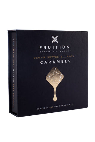 Fruition Chocolate - Brown Butter Bourbon Caramels - Cabin Fever Outfitters