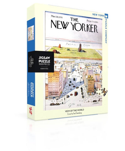 New York Puzzle Company - View Of The World Puzzle - Cabin Fever Outfitters
