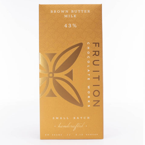 Fruition Chocolate - Brown Butter Milk Chocolate - Cabin Fever Outfitters