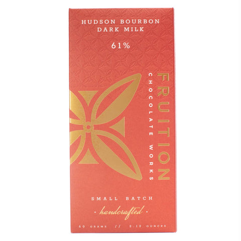 Fruition Chocolate - Hudson Valley Bourbon Dark Milk - Cabin Fever Outfitters