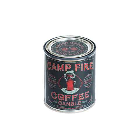 Good & Well Supply Co. - Pint (14oz) Campfire Coffee Candle - Cabin Fever Outfitters