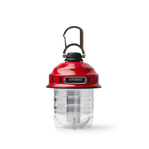 Barebones Living - Red Beacon Lantern - Cabin Fever Outfitters