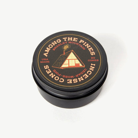 Bradley Mountain - Among the Pines Incense Cones - Cabin Fever Outfitters