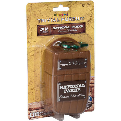 TRIVIAL PURSUIT - NAT. PARKS - Cabin Fever Outfitters