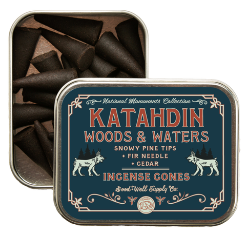 Good & Well Supply Co. - Katahdin Woods & Waters Incense