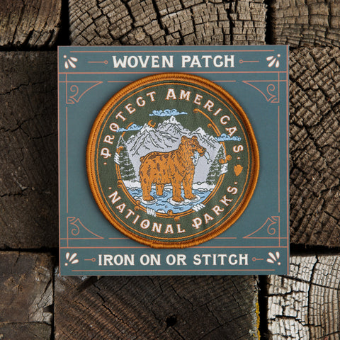 Good & Well Supply Co. - Protect Parks Patch - Cabin Fever Outfitters