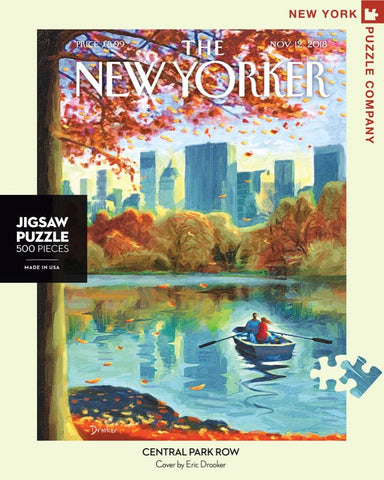 New York Puzzle Company - Central Park Row Puzzle - Cabin Fever Outfitters