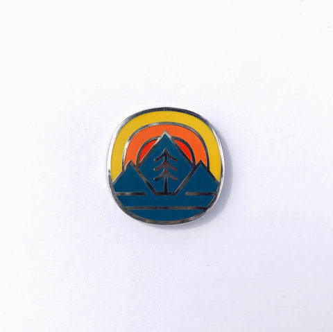 Fell - Fell Badge Enamel Pin