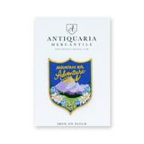 Antiquaria - Adventure Club Embroidered Patch - Cabin Fever Outfitters