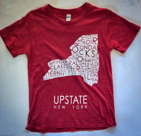 MW Upstate Tee Kid's - Cabin Fever Outfitters