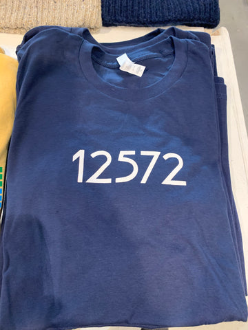 Rhinebeck Zipcode T-Shirt 12572 - Cabin Fever Outfitters