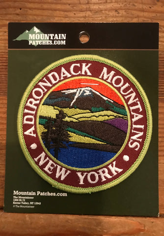 Catskill Mountains & Adirondack Mountains Patch - Cabin Fever Outfitters