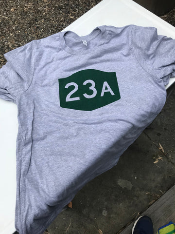 Route 23A T-Shirt - Cabin Fever Outfitters
