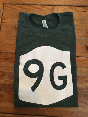 Route 9G T-Shirt - Cabin Fever Outfitters