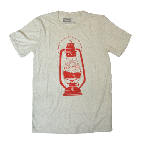 Lantern Tee - Beige - Cabin Fever Outfitters