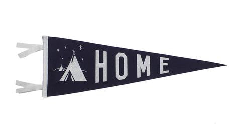 Home Pennant - Cabin Fever Outfitters