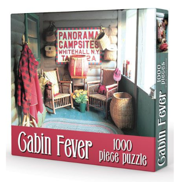 Cabin Fever Puzzle Gibbs Smith - Cabin Fever Outfitters
