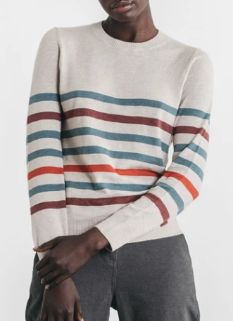 Tate Sweater Natural Multi