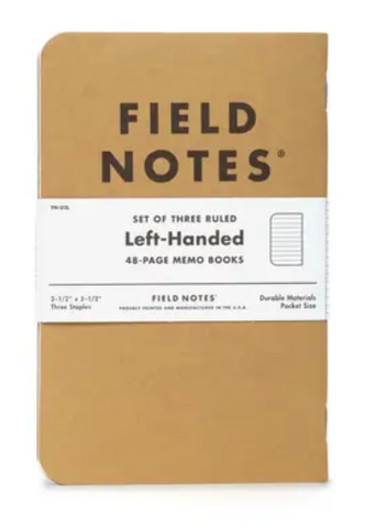 Field Notes - Left-Handed Notebook