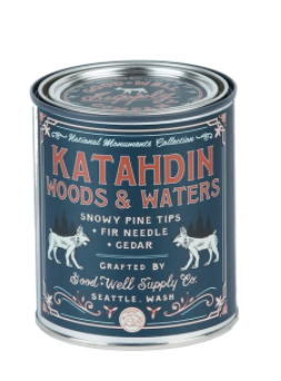 Good & Well Supply Co. - Katahdin Woods & Waters Candle - Snowy Pine Tips Fir & Cedar