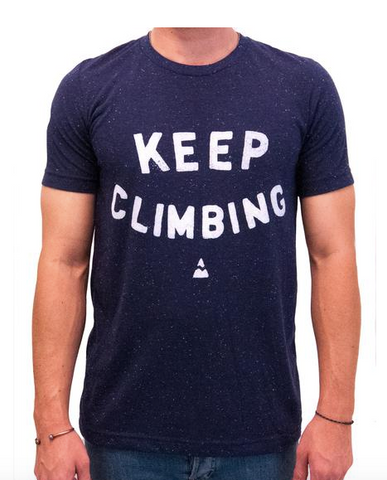 Keep Climbing T-Shirt - Cabin Fever Outfitters