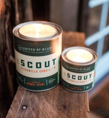 Scout Citronella Candle 5 oz - Cabin Fever Outfitters