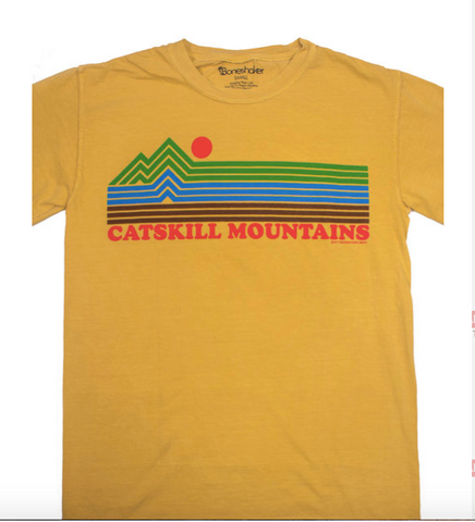 Catskill Mountains Stripes Tee - Cabin Fever Outfitters