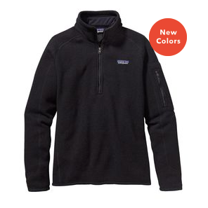 Women's Better Sweater Fleece 1/4 Zip - Cabin Fever Outfitters
