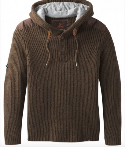 Hooded Henley Sweater - Cabin Fever Outfitters