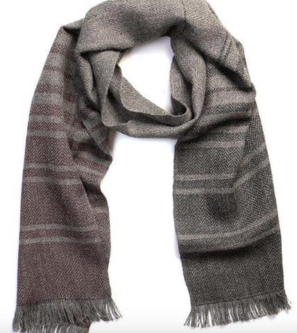 Alpaca Gradient Scarf - Cabin Fever Outfitters