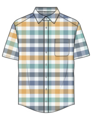 Kintyre S/S Plaid Button Down - Cabin Fever Outfitters
