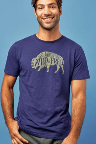 Wild & Free Tee - Cabin Fever Outfitters