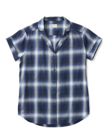 Innes Navy Plaid - Cabin Fever Outfitters