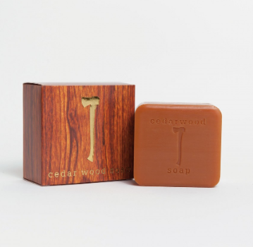 Cedar Wood Soap - Cabin Fever Outfitters