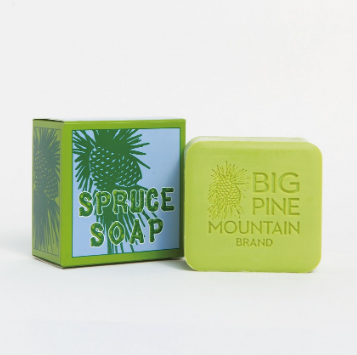 Big Pine Mountain Spruce Soap - Cabin Fever Outfitters