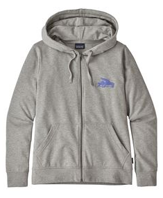 W's Small Flying Fish Ahnya Full-Zip Sweatshirt - Cabin Fever Outfitters