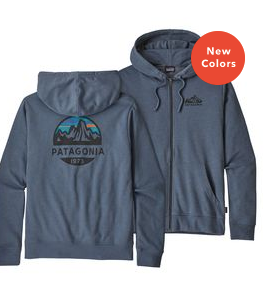 Patagonia Men's Fitz Roy Scope P-6 Label Lightweight Full-Zip Hoody - Cabin Fever Outfitters