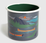ENAMEL STEEL MUG 22oz United by Blue - Cabin Fever Outfitters