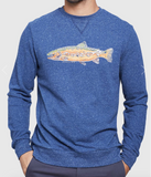 Scale New Heights Crew Pullover - Cabin Fever Outfitters