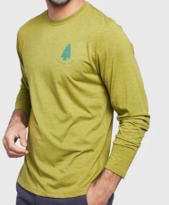 Men's Long Sleeve Right To Roam Graphic T-Shirt