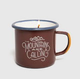 United by Blue Enamel Mug Candle - Cabin Fever Outfitters
