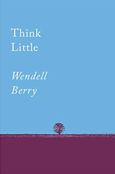 Think Little: Essays by Wendell Berry - Cabin Fever Outfitters