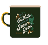 Enamel Mug 12 oz United By Blue - Cabin Fever Outfitters