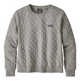 W's Patagonia Organic Cotton Quilt Crew - Cabin Fever Outfitters
