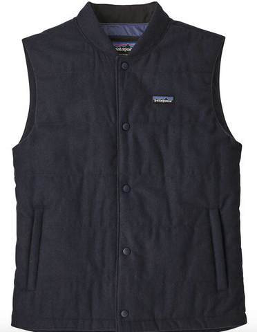 Recycled Wool Vest Men's - Cabin Fever Outfitters