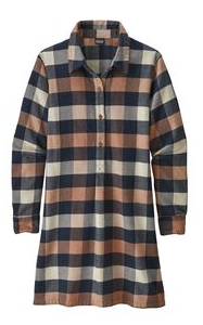 Women's Fjord Flannel Dress - Cabin Fever Outfitters